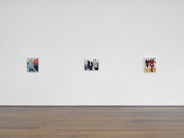 Exhibition view: Chantal Joffe, Story, Wharf Road, London(4 June–31 July 2021). © Chantal Joffe. Courtesy the artist and Victoria Miro.