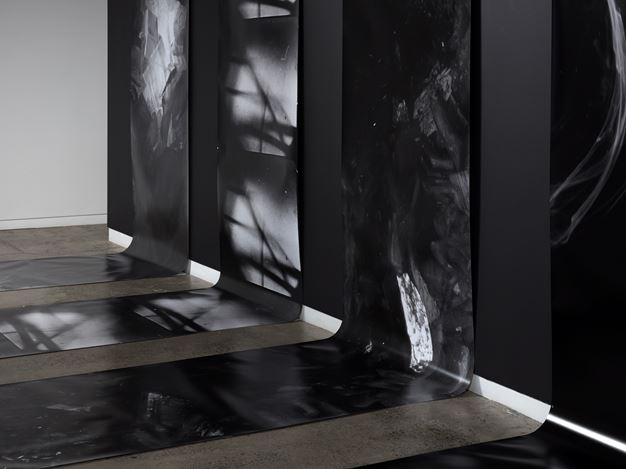 Exhibition view: Joyce Campbell, As it falls, Two Rooms, Auckland (5 September–10 October 2020). Courtesy Two Rooms.
