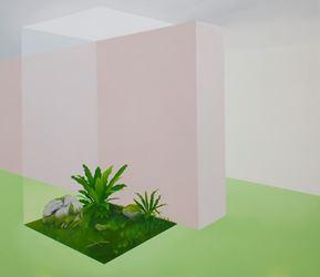 Stephanie Wilson, Super Natural, 2015, oil on canvas, 127 x 147 cm.