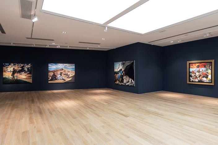 Exhibition view: Qin Qi, Fragrance of the Night 夜來香,Tang Contemporary, Hong Kong(26 April–20 May 2019). Courtesy Tang Contemporary.