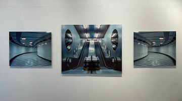Contemporary art exhibition, Christopher Button, The Labyrinth at Blue Lotus Gallery, Hong Kong, SAR, China
