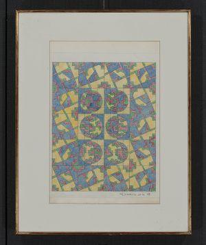 Clock NARUTO 28-94 by Hiroshi Fujimatsu contemporary artwork works on paper, drawing