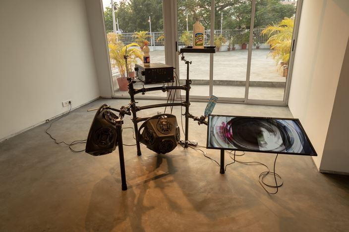 Samson Young, Available Forms, Experimenter, Ballygunge Place, Kolkata (27 November 2019–4 January 2020). Courtesy Experimenter.