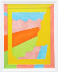 Untitled by Saskia Leek contemporary artwork painting