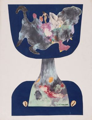 Untitled 《無題》 by Luis Chan contemporary artwork works on paper