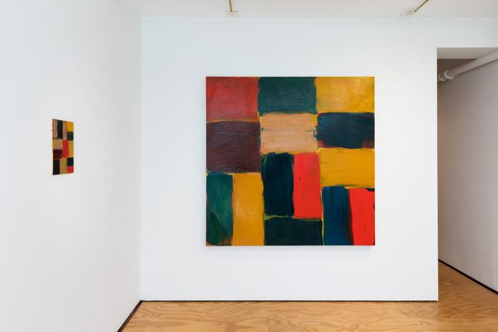 Exhibition view:Sean Scully, Wall Big And Small,Lisson Gallery, East Hampton (1 July–18 July 2021). © Sean Scully.Courtesy Lisson Gallery.