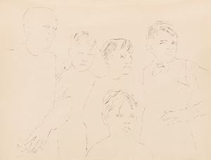 Children by Andy Warhol contemporary artwork
