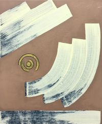 Rubbings of Time 时间的拓片 by Tao Yi contemporary artwork painting