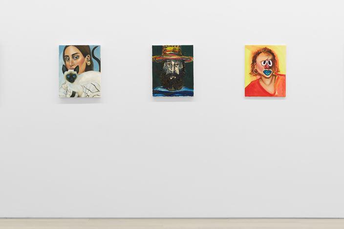 Exhibition view: Group exhibition, Cliche, Almine Rech Gallery, New York (20 June–28 July 2018). Courtesy Almine Rech Gallery. Photo:Matt Kroening.