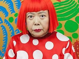 Yayoi Kusama Named World's Most Popular Artist in 2014