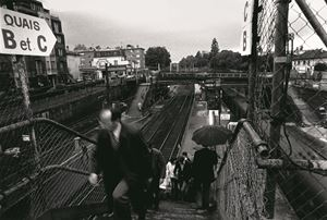 Station platform by Tsun-shing Cheng contemporary artwork