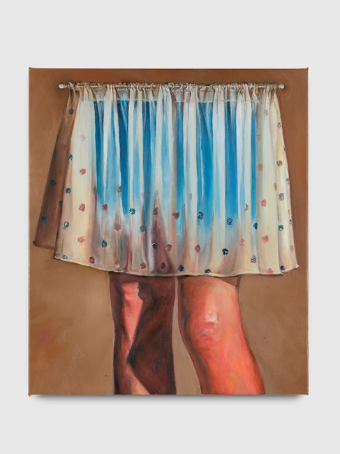 Behind the curtain by Thomas Lerooy contemporary artwork