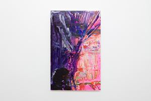 Pinkest Mesh War by Hayley Tompkins contemporary artwork
