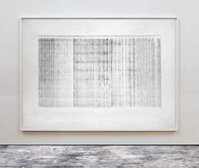 Plumbline Drawing No. 11 by Susan Morris contemporary artwork