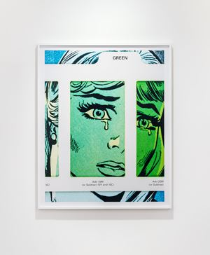 Filter #3 (Green) by Anne Collier contemporary artwork