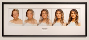 Makeover: Melania by Martha Wilson contemporary artwork