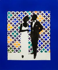 Thoughts on Alhambra by Idelle Weber contemporary artwork painting
