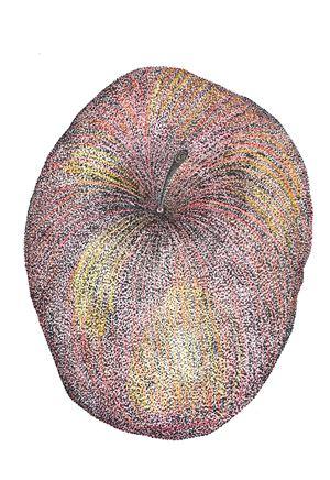 WfH Series - Delicious Apple by Eddie Lui contemporary artwork