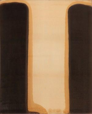 Umber-Blue by Yun Hyong-keun contemporary artwork