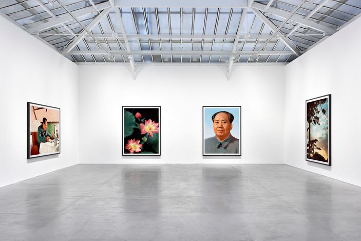 Exhibition view: Thomas Ruff,tableaux chinois, David Zwirner, Paris (14 January–20 March 2021). Courtesy David Zwirner.