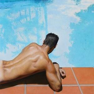 Narcissus by Michael Zavros contemporary artwork