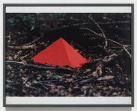 Pigment geschichtet (Pigment stacked) by Lothar Baumgarten contemporary artwork photography, print