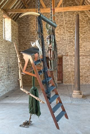 Exhibition view:Bharti Kher,A Wonderful Anarchy,Hauser & Wirth, Somerset (28 September 2019–5 January 2020).Courtesy the artist and Hauser & Wirth. Photo: Ken Adlard.