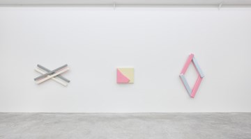 Contemporary art exhibition, Justin Adian, Waltz at Almine Rech, Paris