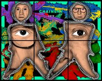 CHAINERY by Gilbert & George contemporary artwork mixed media