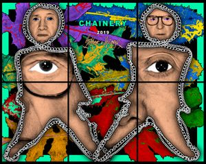 CHAINERY by Gilbert & George contemporary artwork