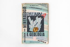 Palarva - Notions of mineralogy and geology by Paulo Bruscky contemporary artwork