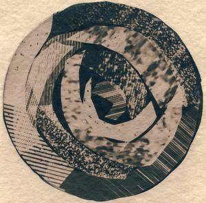 Rings On A Tree 4 by Corinne De San Jose contemporary artwork