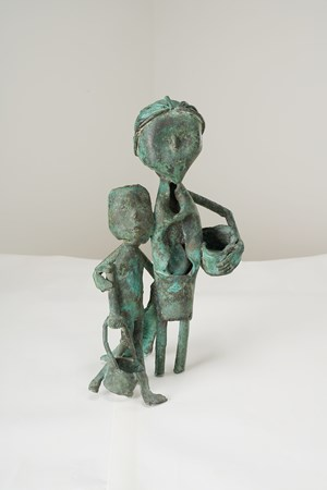 Mother and Child by Somnath Hore contemporary artwork