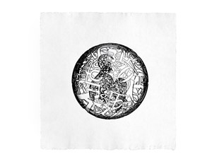 Alchimistes 5 by Jaume Plensa contemporary artwork