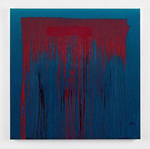 Considering Rothko #12 by Pat Steir contemporary artwork