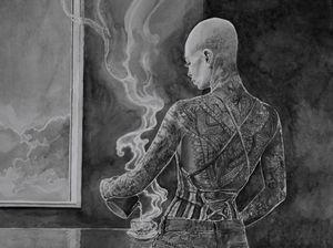 Tea by Hans Op de Beeck contemporary artwork