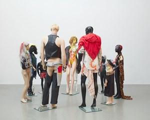 Schauspieler (Actors) by Isa Genzken contemporary artwork