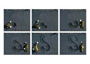 S by Robin Rhode contemporary artwork