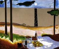Heinrich Von Kleist by Dexter Dalwood contemporary artwork painting
