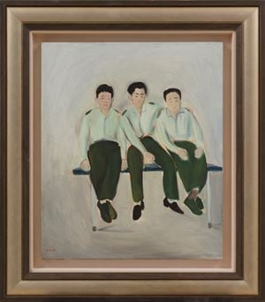 Male Soldiers by Wu Yi contemporary artwork