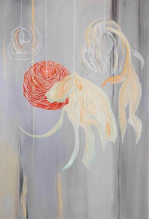 Ranuculus by Mary Simpson contemporary artwork
