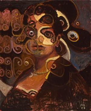 Portrait No. 231 by Anton Henning contemporary artwork