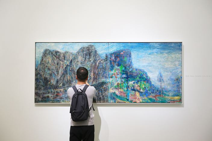 Exhibition view: Qi Lan and Tu Hongtao, Uninhibited Scenery Ⅱ, A Thousand Plateaus Art Space, Chengdu (26 April–30 June 2019). Courtesy A Thousand Plateaus Art Space, Chengdu.