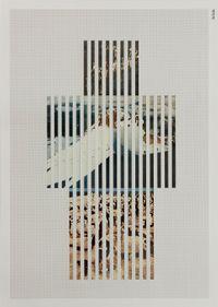 Discrete Model Number 022 by Goshka Macuga contemporary artwork mixed media