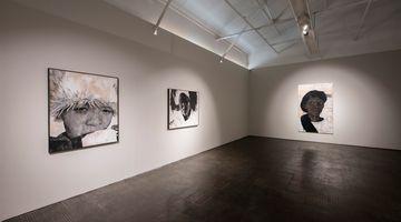 Contemporary art exhibition, Luyanda Zindela, Abangani bami – Izithombe zami (My friends – Images of me) at SMAC Gallery, Cape Town, South Africa