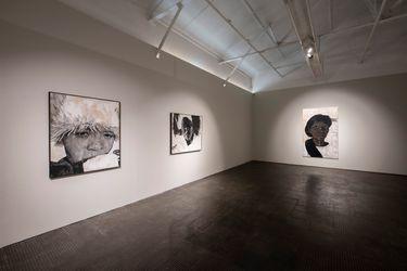 Exhibition view: Luyanda Zindela, Abangani bami – Izithombe zami (My friends – Images of me), SMAC Gallery, Cape Town (28 August 2021 - 2 October 2021). Courtesy SMAC Gallery.