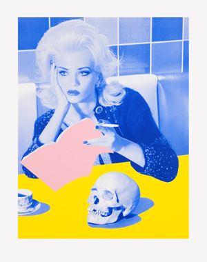 Ex Libris by Miles Aldridge contemporary artwork
