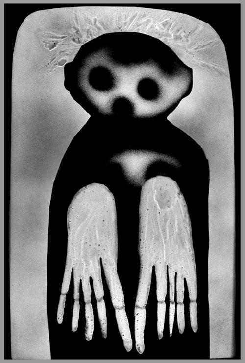 Waif by Roger Ballen contemporary artwork