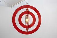 Light (Red) by David Austen contemporary artwork sculpture