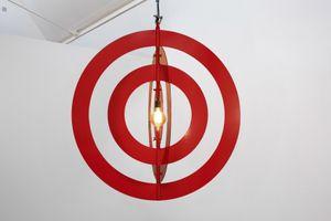Light (Red) by David Austen contemporary artwork